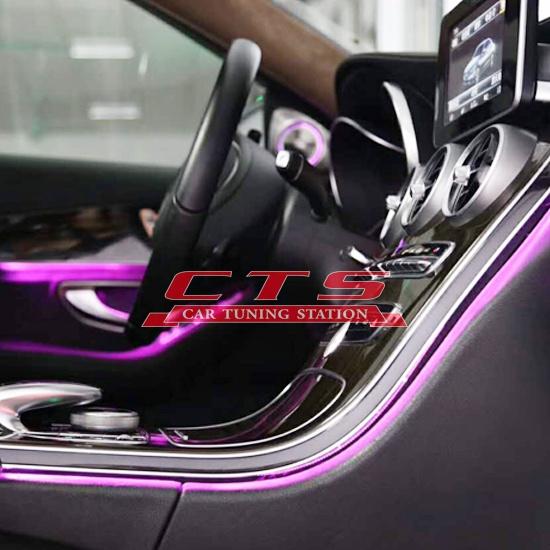 Mercedes-Benz ambient lighting