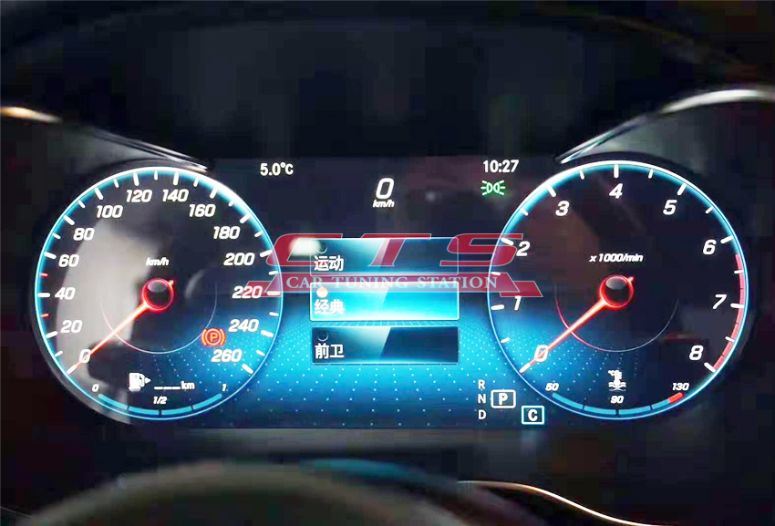 2019 LCD Instrument Cluster for Mercedes-Benz W205 C class